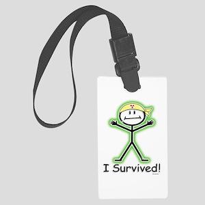 Radiation Survivor Large Luggage Tag