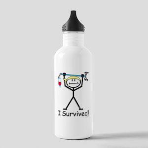 Chemo Survivor Stainless Water Bottle 1.0L
