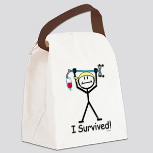 Chemo Survivor Canvas Lunch Bag