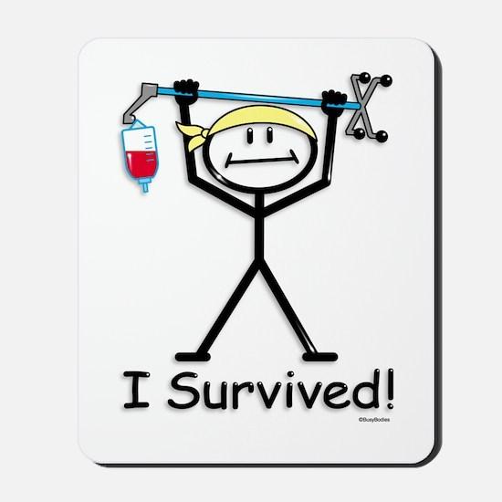 Chemo Survivor Mousepad