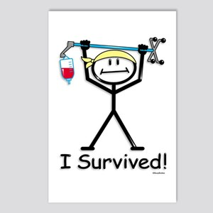Chemo Survivor Postcards (Package of 8)