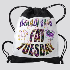 Fat Tuesday Drawstring Bag