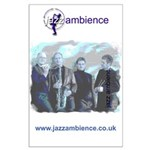 Large Jazz Ambience Wall Poster
