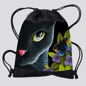 Cat 557 Drawstring Bag