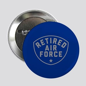 """Retired Air Force 2.25"""" Button"""
