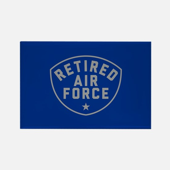Retired Air Force Rectangle Magnet