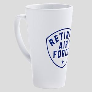 Retired Air Force 17 oz Latte Mug