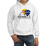 Balloons Over The Rainbow Hooded Sweatshirt