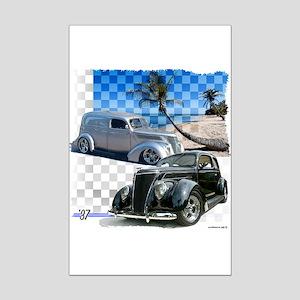 1937 Fords Mini Poster Print