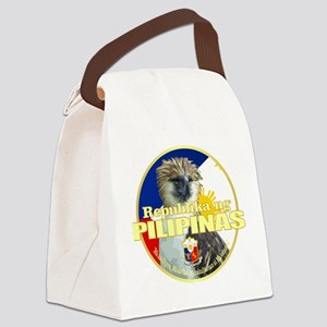 Philippine Eagle Canvas Lunch Bag