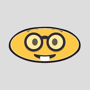 Nerdy Emoji Face Patch