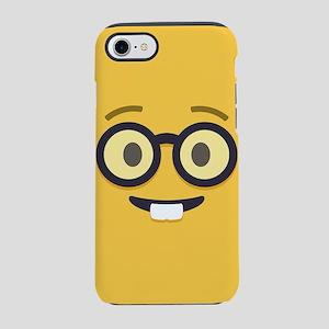 Nerdy Emoji Face iPhone 7 Tough Case