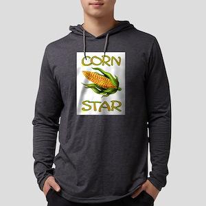 CORN STAR Mens Hooded Shirt