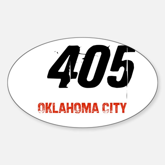 405 Oval Decal