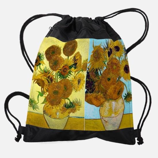 12mo VG Sunflowers Drawstring Bag