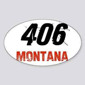 406 Oval Sticker