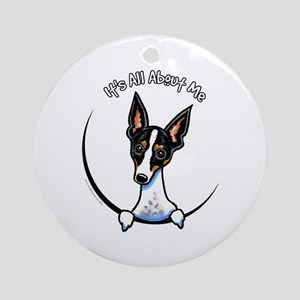 Rat Terrier IAAM Ornament (Round)