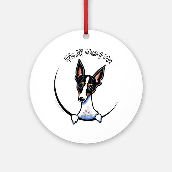 Rat Terrier IAAM Ornament (Round)