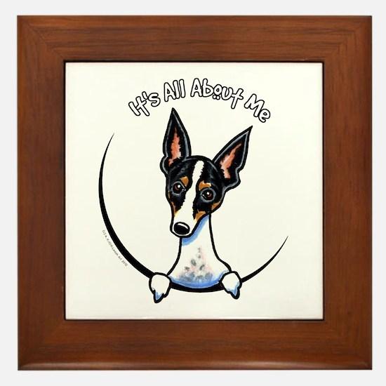 Rat Terrier IAAM Framed Tile