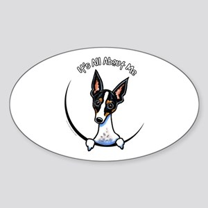 Rat Terrier IAAM Sticker (Oval)