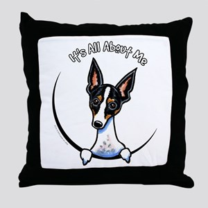 Rat Terrier IAAM Throw Pillow
