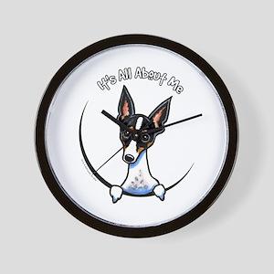 Rat Terrier IAAM Wall Clock