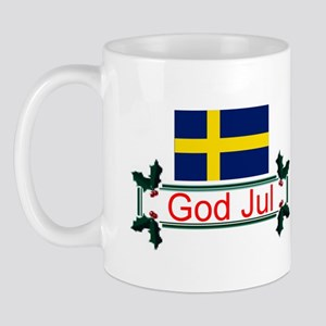 Swedish God Jul Mug