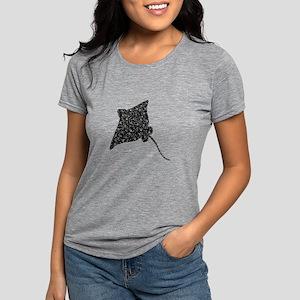 SPOT THE RAY Womens Tri-blend T-Shirt