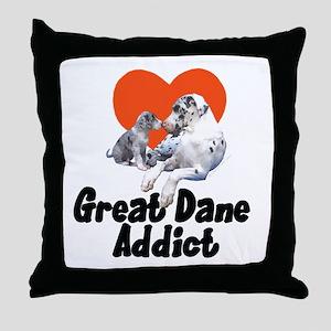 GD Addict Throw Pillow