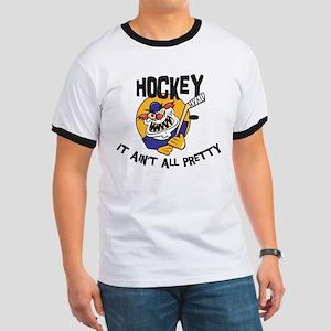 Funny Hockey Ringer T