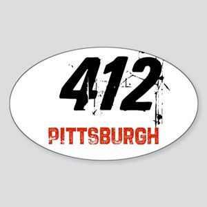 412 Oval Sticker