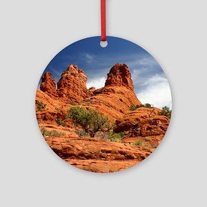 Vortex Side of Bell Rock Ornament (Round)