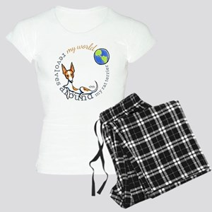 Rat Terrier My World Pajamas