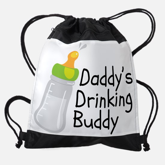 Daddys Drinking Buddy Drawstring Bag