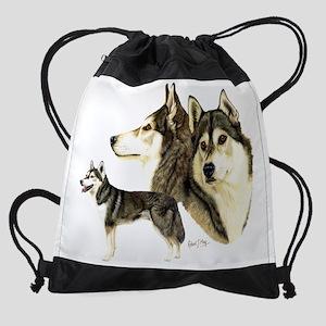 Sib Husky Multi dark Drawstring Bag