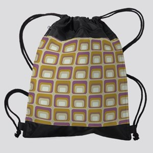 MojaveSquares_Cafe_mouse Drawstring Bag