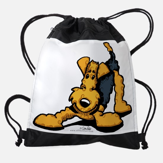 airedale-play-lt.png Drawstring Bag
