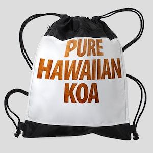 Pure Hawaiian Koa Drawstring Bag