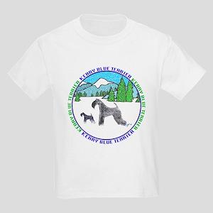 KERRY BLUE TERRIER Kids T-Shirt