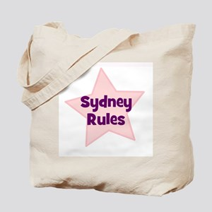 Sydney Rules Tote Bag