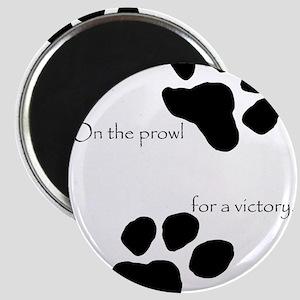 Tiger Paw Black Magnet