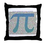 1000 digits of PI - Throw Pillow