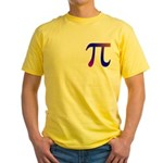 1000 digits of PI - Yellow T-Shirt