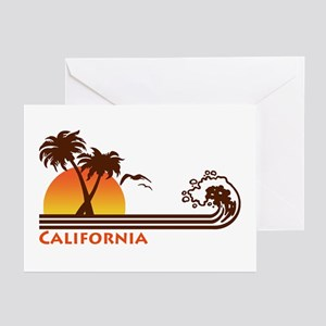 California Greeting Cards (Pk of 10)