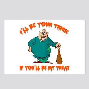 TRICK TREAT Postcards (Package of 8)