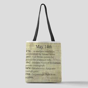 May 14th Polyester Tote Bag