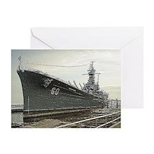 USS ALABAMA Note Cards (6)