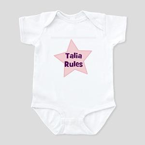 Talia Rules Infant Bodysuit
