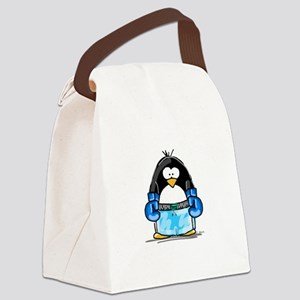 BlueBoxing Canvas Lunch Bag
