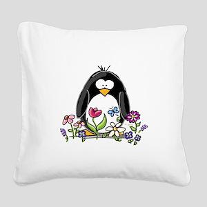 Garden Square Canvas Pillow